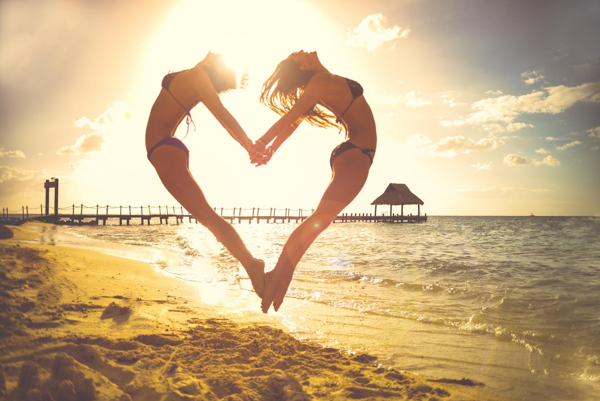 La risa es el lenguaje del alma y las vidas son paralelas